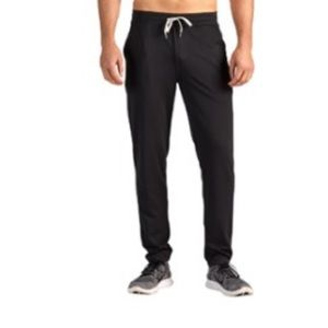 Vuori Men's Ponto Performance Pants in Black